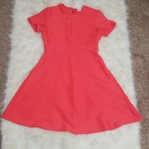 Shoshanna Dresses - Sz 6 Dress Shoshanna Coral Stretch SS Fit & Flare